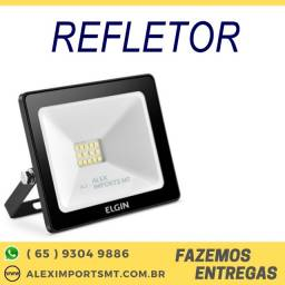 Refletor Led Elgin 10W 6.500K Branca Fria Bivolt