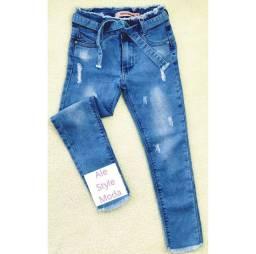 Calça jeans infantil feminina