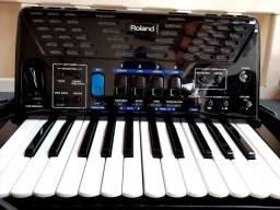Acordeon Sanfona Roland FR1x