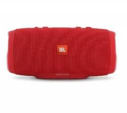 Caixa de som JBL Charge Mini 3 portátil com bluetooth red