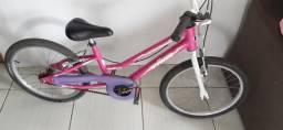 Vendo bicicleta aro 20 infantil! Revisada! Entrego! Não faço trocas!