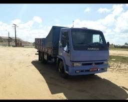 Caminhão Agrale, modelo 7500 TDX. Diesel. Cor Azul. Ano 1997/1997