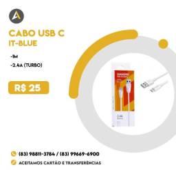 Cabo USB C it-blue 2.4 turbo