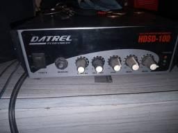 amplificador com 2 caixas