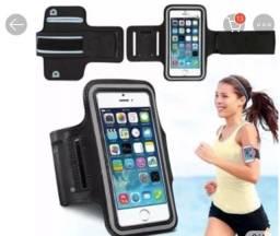 Capa de braço para abraçadeira de celular