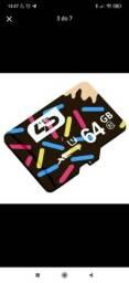 Cartão Micro SD XC de 64Gb LD