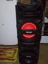 Caixa de som 750w Amvox