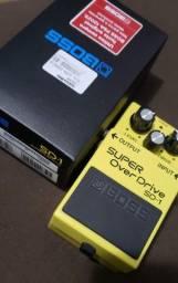 Pedal Boss SD-1 (Overdrive Guitarra/Baixo)
