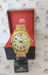Relógio original Seculus com 2 anos de garantia