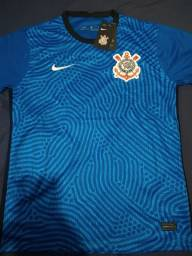 Camisa Corinthians goleiro azul 20/21