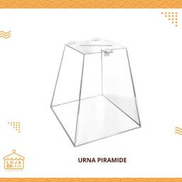 Urna Piramide Acrilico