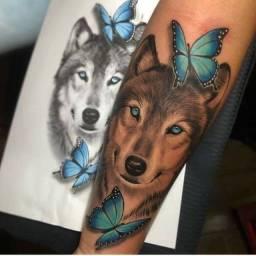 Troco tattoo por eletrônico celular tablet etc