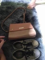 Bolsa e sapato para Bazar
