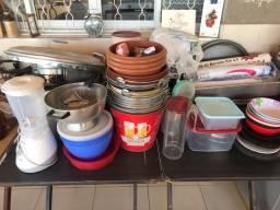 Vendo diversos utensílios de cozinha para restaurante