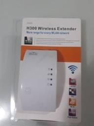 Repetidor e Amplificador de sinal Wifi sem fio