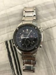 Relógio Cássio EFE 500 vidro de Safire