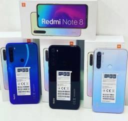 SmartPhone com 128 GB original Xiaomi - Redmi Note 8 Câmera de 48 Megapixels