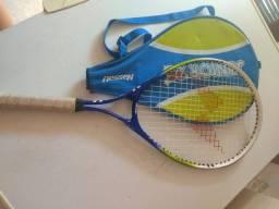 2 raquetes tênis