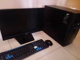 Computador Desktop Sim+ G830 + Tela de 17 polegada