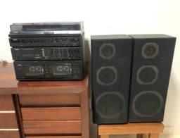Som Philips 3 em 1 (toca disco)