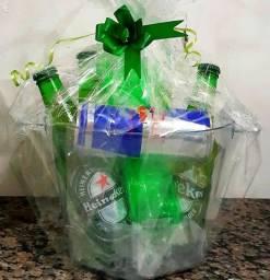 Cesta kit Heineken