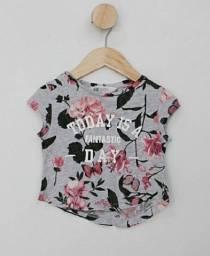 Camiseta Infantil Estampada
