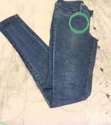 Bazar - Calça jeans Bwana 40 ( leia)