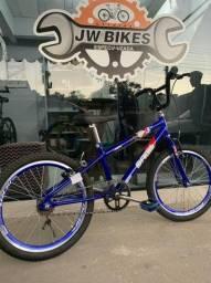 Bicicleta Aro 20 C/ Rodas Aero NOVA