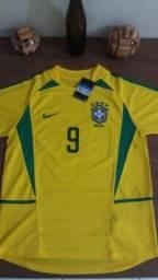 Camisa do brasil 2002