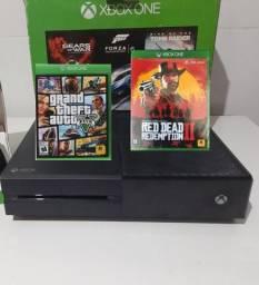 Xbox one + Jogos /Passo cartão