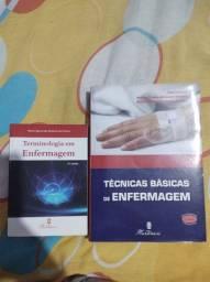 Kit de livros de enfermagem
