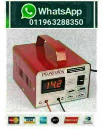 Carregador Cv5AH Para Baterias De 12v Voltimetro