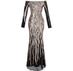 vendo vestido de luxo