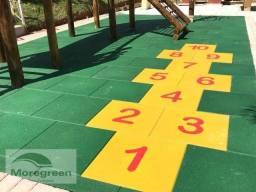 Piso Ecológico de borracha , Moregreen, medidas 50cm por 50 cm
