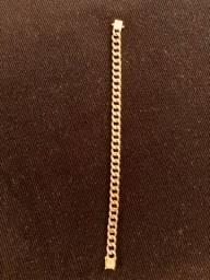 Pulseira, ouro 18k, maciço, 34 gramas