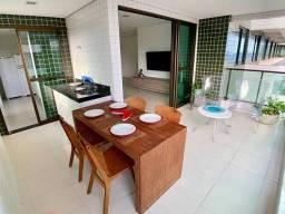 Título do anúncio: Apartamento com 3 dormitórios à venda, 114 m² por R$ 724.000,00 - Guaxuma - Maceió/AL
