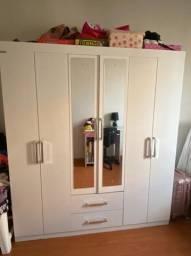 Armário novo ...branco 6 portas