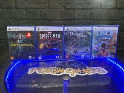 Só os Exclusivos a Pronta Entrega para PlayStation 5