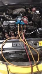 Instalação de ar condicionado automotivo. Todos os tipos de carros, vans e caminhões