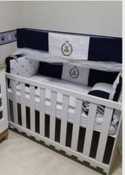 Berço que vira mini cama  com colchão (nunca usado) só R$.800.00