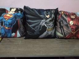 Almofadas Geek Liga da Justiça