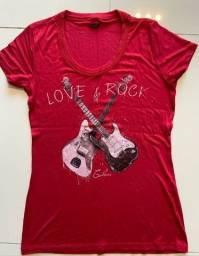 camiseta colcci rock