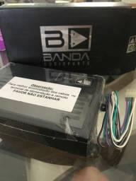 Módulo Amplificador Digital Banda 2.4D Preto - 4 Canais - 400 Watts RMS