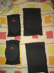 Cotoveleiras e joelheiras para Futsal