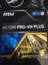 I7 6700k + H110m pro-vh plus (NAO ACEITO TROCAS)