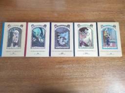 Livros Desventuras em Série (1 ao 5)