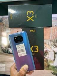 XIAOMI POCO X3 128GB 6GB ram 64mpx camera novos disponíveis