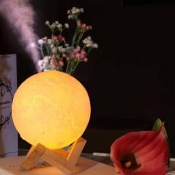 Lua Umidificador Climatizador Luminaria De Ar Luz Linda