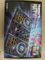 Numark party mix controladora DJ nova na cx
