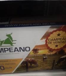 Eletrificador de  cerca rural130km profissional  biv pampeano